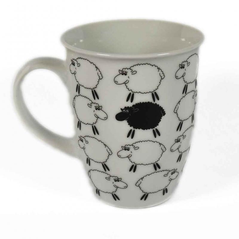 Schaf Tasse schwarzes Schaf