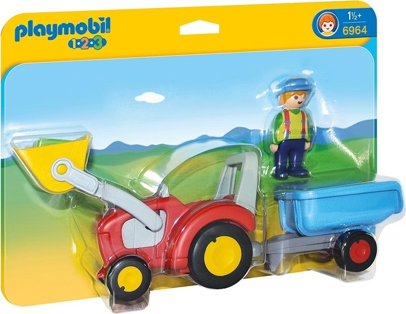 PLAYMOBIL® 6964 Traktor mit Anhänger