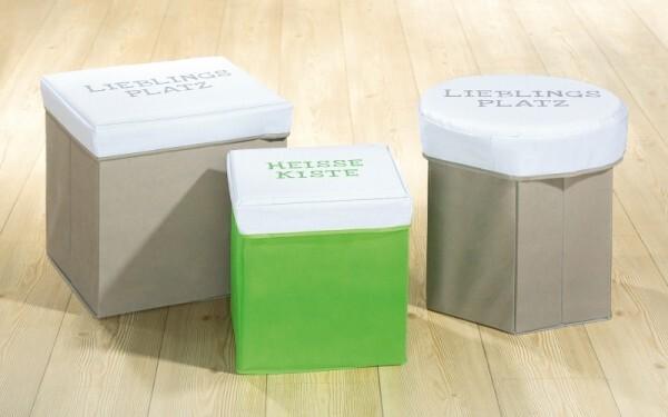 Hocker/Aufbewahrungsbox