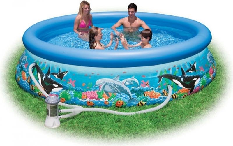 INTEX Ocean Reef Easy Pool Set 366x76cm inkl. Pumpe