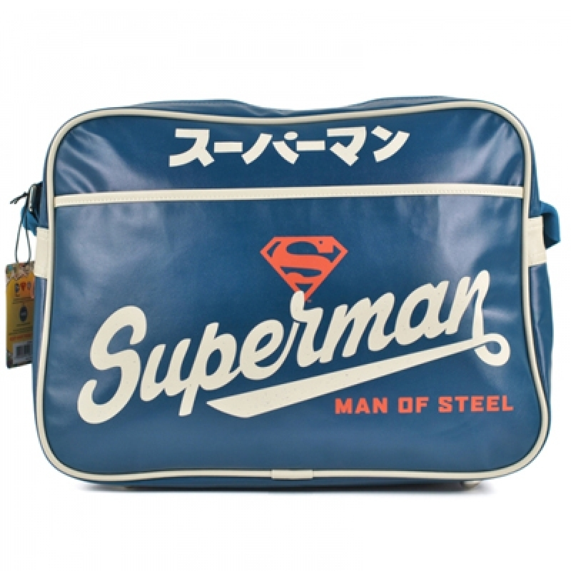 Schultertasche Superman Blue Japanese