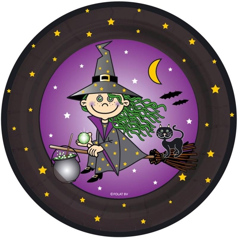 Kleine Hexe Teller