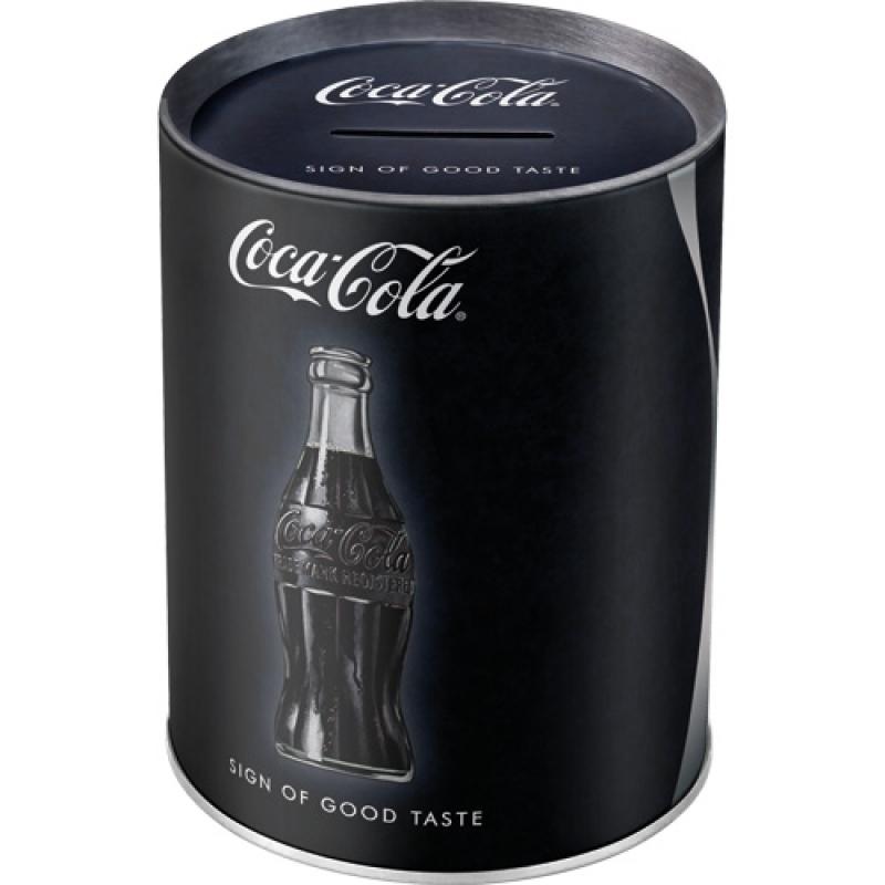 Spardose Coca Cola - Sign Of Good Taste