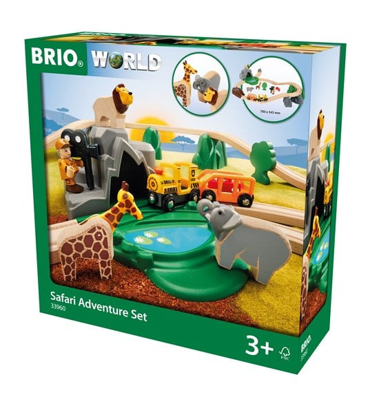 BRIO 33960 Gr. BRIO Bahn Safari Set D