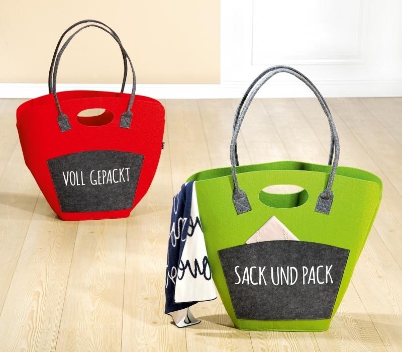Filz Shoppingtasche