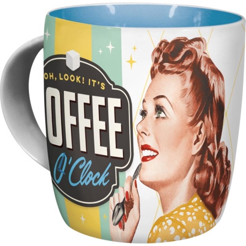 Tasse Coffee O' Clock