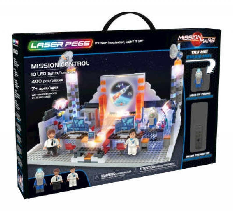 LASER PEGS 18004 - Mission Control
