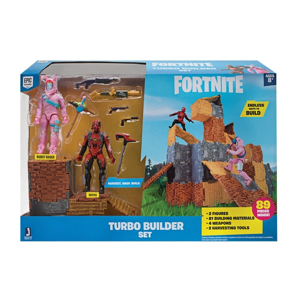 FORTNITE - Turbo Builder Set mit Spielfiguren Rabbit