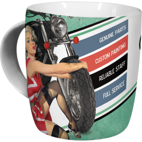Tasse Best Garage - Green