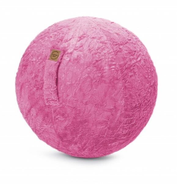 Sitzball Fluffy - pink