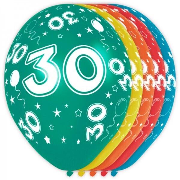 30. Geburtstag Ballons