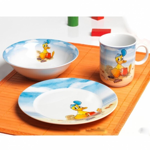 Kindergeschirr Set Ente Duffy