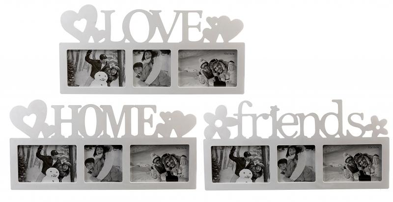 Bilderrahmen LOVE HOME friends