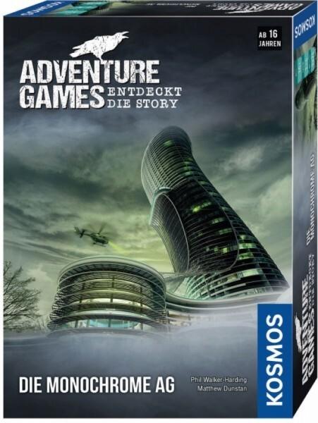 KOSMOS 695132 - Adventure Games - Die Monochrome AG