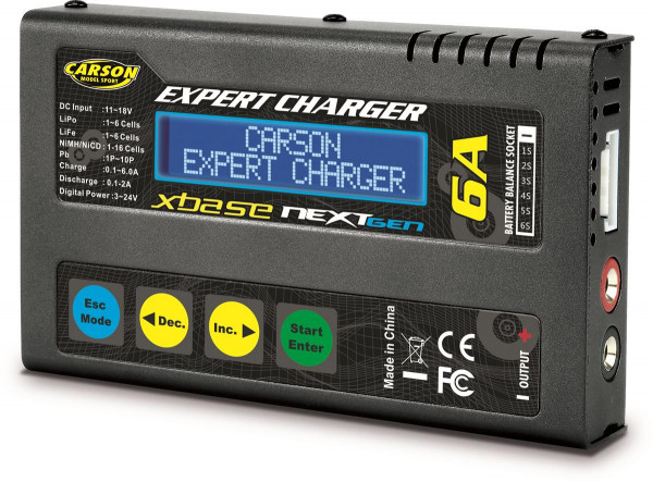 CARSON RC Sport - Expert Charger Duo 2.0