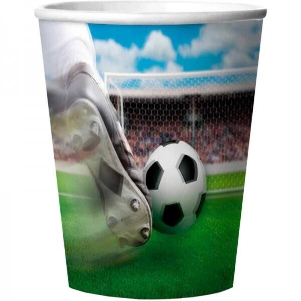 Fußball Trinkbecher 3D
