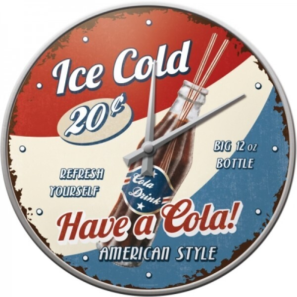 Wanduhr Have a Cola